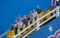 Scenic rollercoaster at the Pleasure Beach