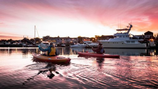 Paddling excursions on Yarmouth Waterfront with Song of the Paddle