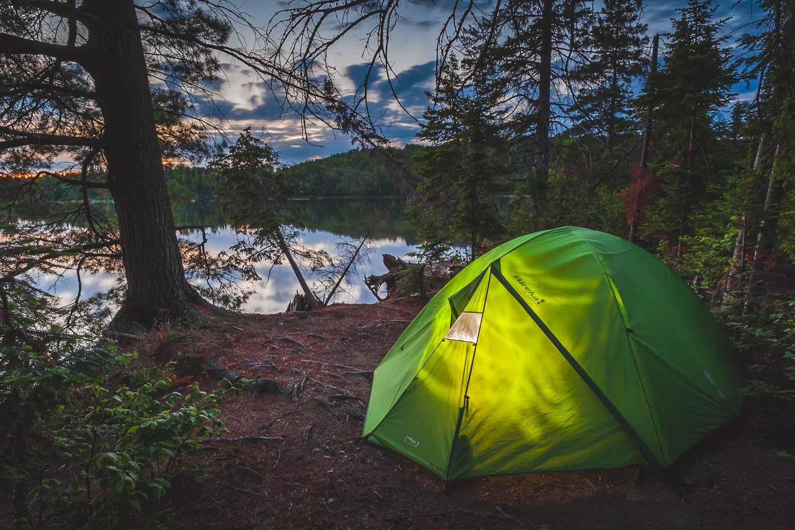 Choosing Best Campsite