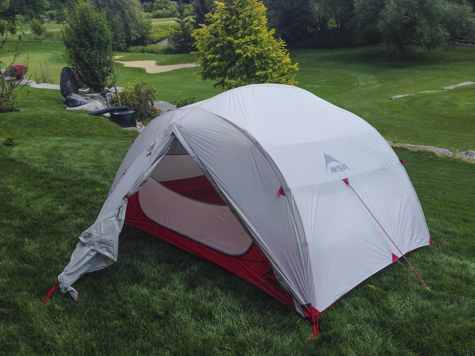Practicing Camp setup at home