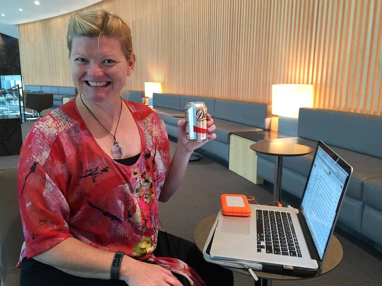 holiday travel stress made easy in a lounge