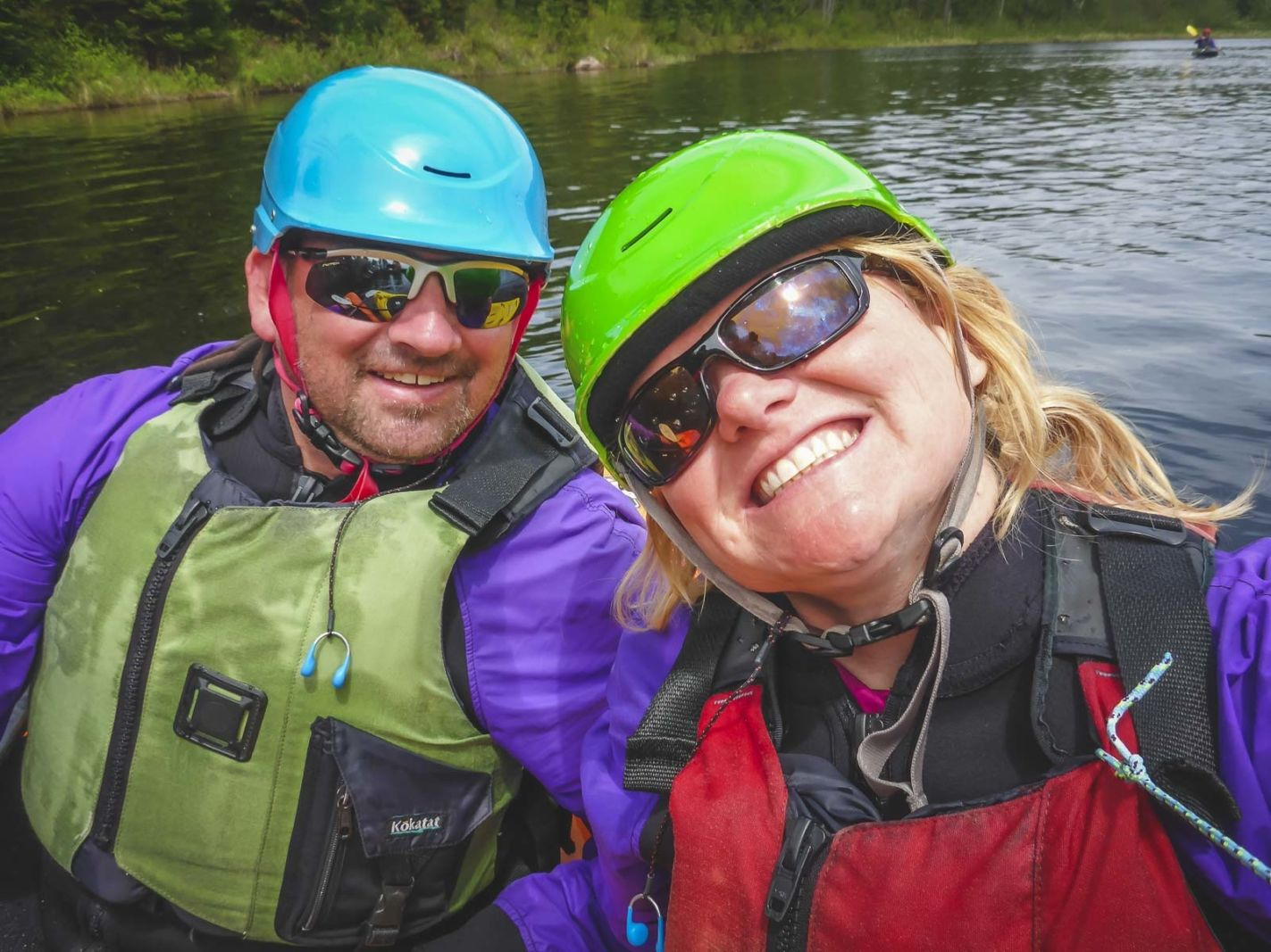 adventure travel couple dave and deb whitewater kayaking