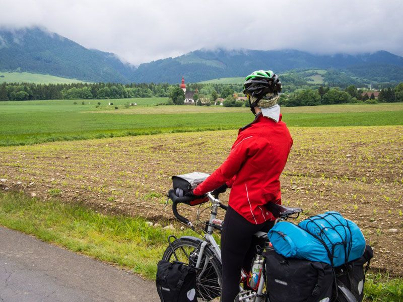 cycle touring slovakia