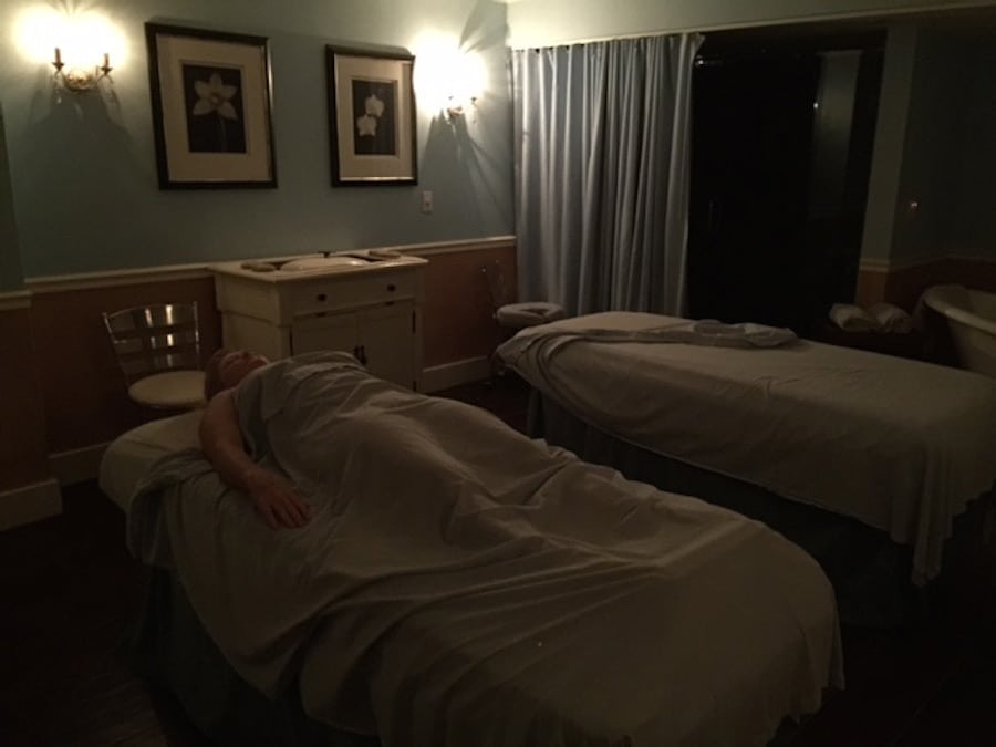 spa tips massage tables