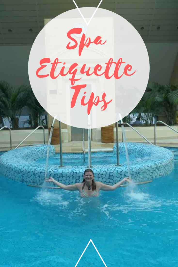 spa etiquitte tips from stripping to tipping