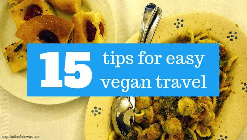 tips for easy vegan travel
